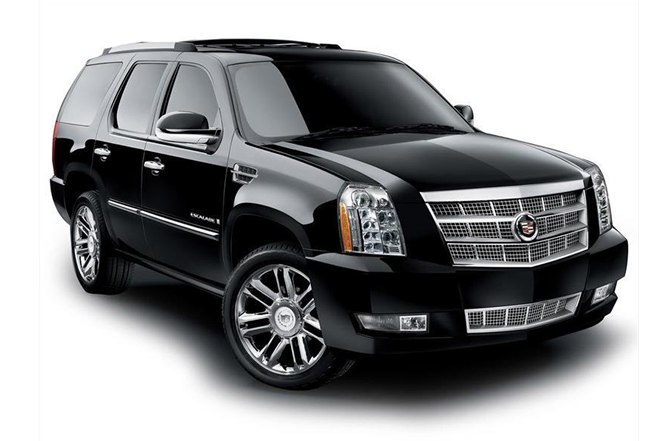 Escalade Black SUV